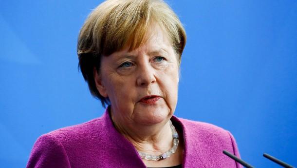 """Merkel: Militärschlag war """"erforderlich und angemessen"""""""