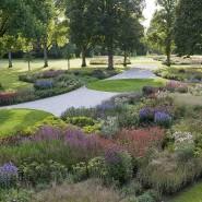 Auch eine Anlage von Piet Oudorf schmückt den Park.
