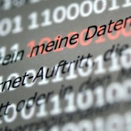 Datenschutzerklärung im Internet.