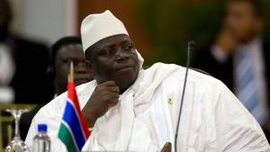 Ex-Präsident Jammeh hat Gambia verlassen
