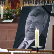 Trauerfeier für den ermordeten ehemaligen Regierungspräsidenten Lübcke.