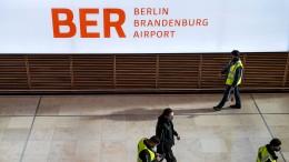 Berlins Flughäfen bekommen das neue Kürzel BER
