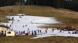 Wetterderivate für Skiorte ohne Schnee