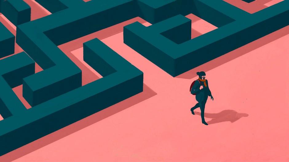 Klare Sicht statt Labyrinth für junge Absolventen?