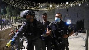 17 Verletzte bei Zusammenstößen auf dem Tempelberg in Jerusalem