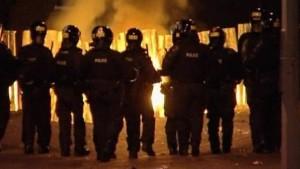Krawalle und Gewaltausbrüche