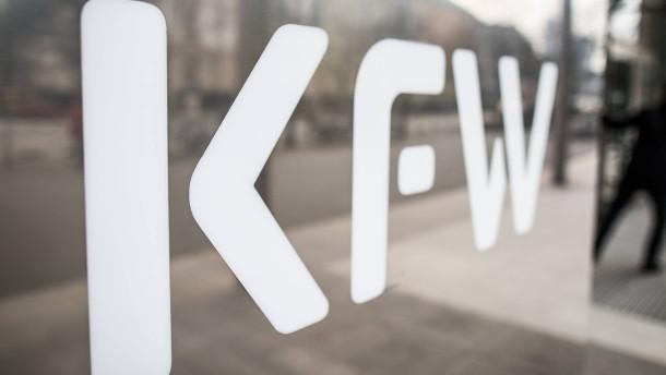 Hohe Nachfrage nach KfW-Krediten