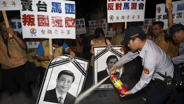 Proteste in Taiwans Hauptstadt