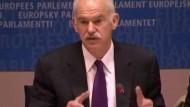 Papandreou macht Druck in Brüssel