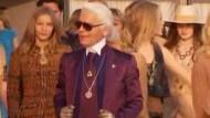 Staraufgebot bei Chanel-Modenschau