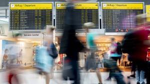 Deutsche Flughäfen verzeichnen Passagierrekord
