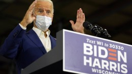 Biden in Wisconsin und Pennsylvania knapp vor Trump