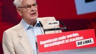 Letzter Chef einer SED-Regierung in der DDR: Hans Modrow. Der 90 Jahre alte Politiker hat beste Kontakte nach Nordkorea.