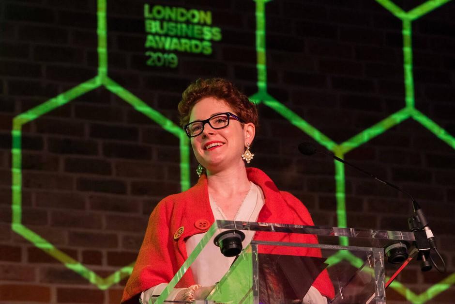 Lockt mit viel Zuversicht: Die Chefin der Investitionsförderungsgesellschaft von London, Laura Citron