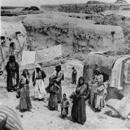 Palästina um 1930: Weite Teile der Bevölkerung lebte in typischen Lehmhütten.