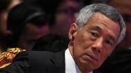 Wählt drastische Worte für die aktuelle Situation: Singapurs Premierminister Lee Hsien Loong.