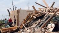 Tornado verwüstet Mississippi