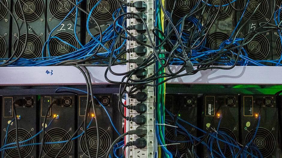 Welches Internet soll's sein? Dieser Server steht in China.
