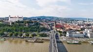 Unterwegs in Bratislava