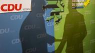 Keine Mehrheit mehr: Umfragewerte für eine schwarz-grüne Koalition in Hessen sehen schlecht aus.