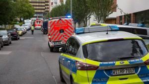 Zwei Tote nach nach Beziehungsdrama in Wiesbaden