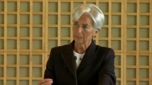 Christine Lagarde will erste IWF-Chefin werden