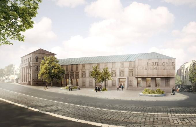 Über 24 Millionen Euro für das neue Tapetenmuseum.