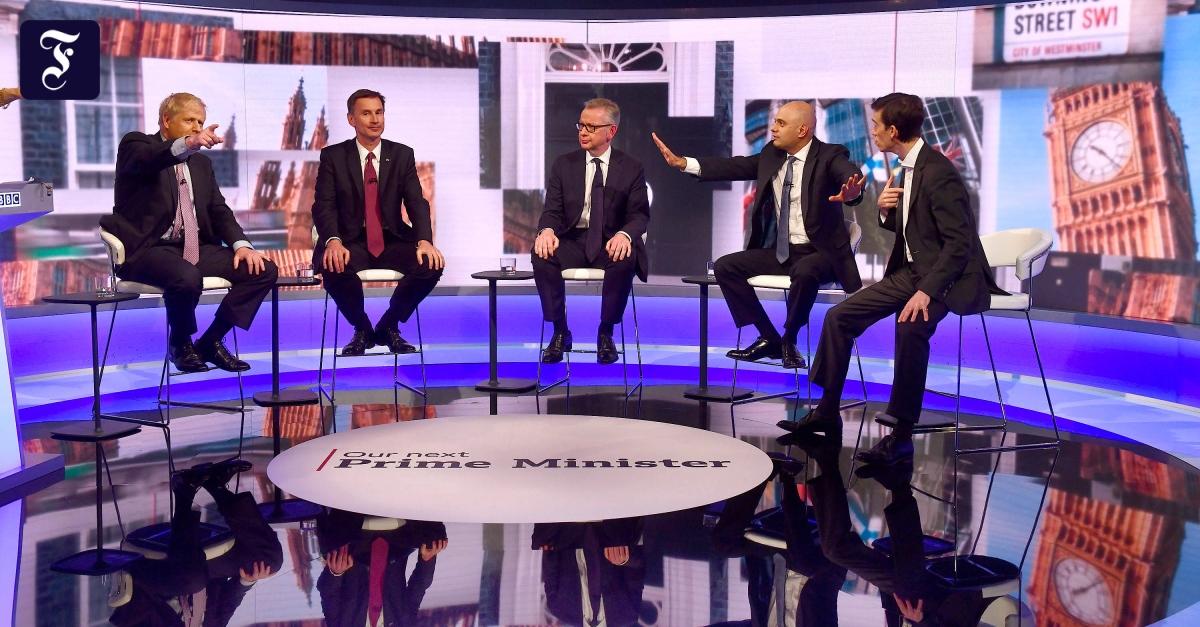 BBC-Debatte um May-Nachfolge: Boris Johnson siegessicher
