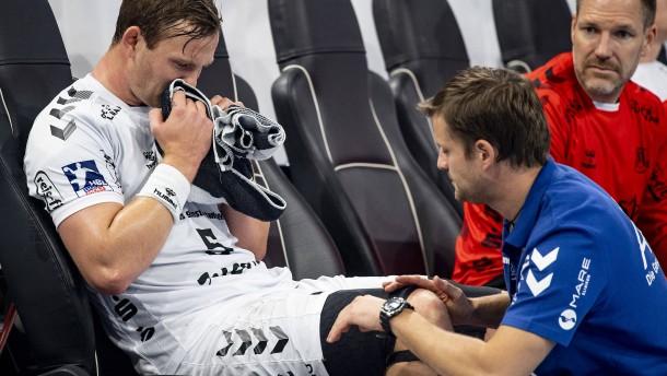 Risse und Brüche lähmen den Handball