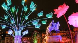 Lichtermeer in Lyon