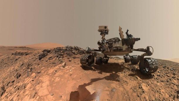 Mars-Rover schickt HD-Bilder