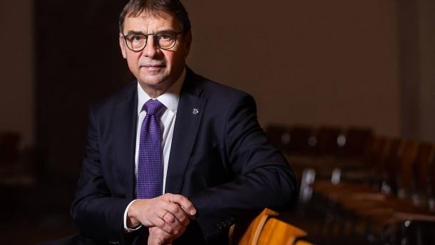 Volker Jung an die Spitze von Kirchen-Union gewählt