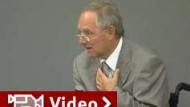 Schäuble fordert Bekenntnis zur Demokratie