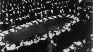 Versöhnliches Ende der Haager Konferenz