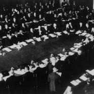 Erste Haager Konferenz im August 1929: Der Young-Plan wird verhandelt.