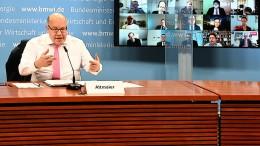 Altmaier will Vorschläge für Öffnungen erarbeiten