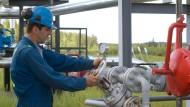 Bei der Förderung von Erdgas ist größte Sorgfalt gefragt.
