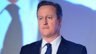 Prangerte Steuerflucht an, profitierte selbst von ihr: David Cameron.