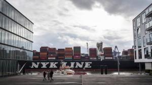 Start-up gegen Hafenkran