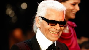 """Karl Lagerfeld war Paris"""