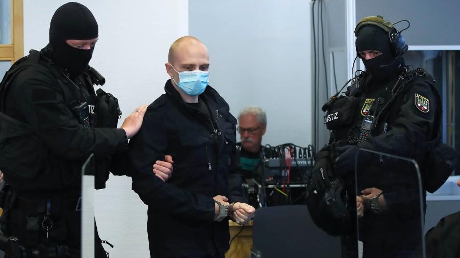 Attentäter von Halle vor Gericht