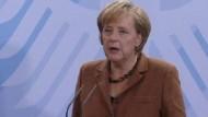 Merkel und Steinbrück fordern klare Reformen