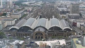 Sperrung des Frankfurter Hauptbahnhofs