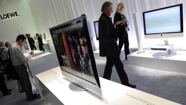 TV-Gerätehersteller Loewe
