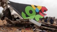 Flugzeugabsturz fordert 103 Todesopfer