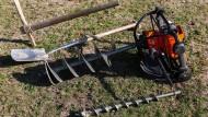 Lochmacher: Werkzeuge für Erdarbeiten