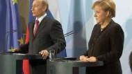 Putin in Berlin: Wir haben aufgemacht