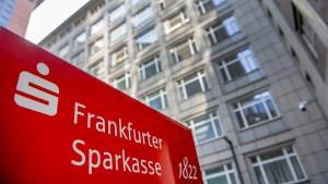 Frankfurter Sparkasse streicht Filialnetz zusammen