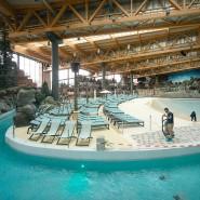 """Blick in die Halle der neuen Wasserwelt """"Rulantica"""" in Rust"""