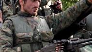 Im Kaukasus wird weiter gekämpft